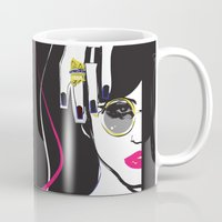 depeche mode Mugs featuring Mode by shutupjade