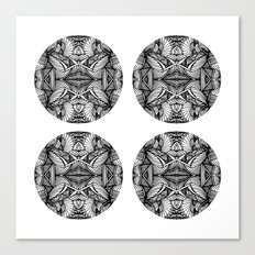 Zen Circles Canvas Print