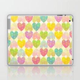 Colorful Sweet Candy Heart Pattern II Laptop & iPad Skin