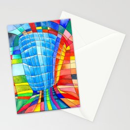 I go out with you(tube). You go out with me(ssenger)? Stationery Cards
