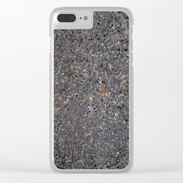 Stone Texture #6b Clear iPhone Case