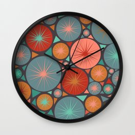 MCM May Wall Clock