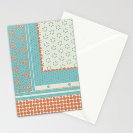 Quilting Blocks Abstract Stationery Cards
