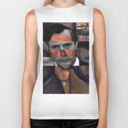 """Modigliani """"Portrait of a Poet"""" & Marcello Mastroianni Biker Tank"""