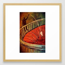 End of stories / Capitulo Final Framed Art Print