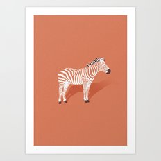 Animal Kingdom: Zebra I Art Print