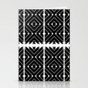 MONOCHROMA Geometrica : Black & White Box Pattern by sabrinareneechong