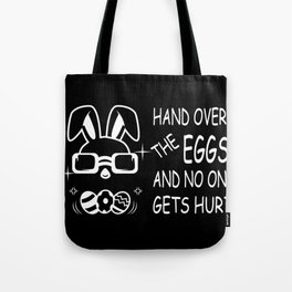 Easter Bunny Gangster Easter Eggs Egg Thief Gift Tote Bag