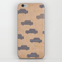 car iPhone & iPod Skins featuring Car by sinonelineman