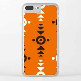 Indian Designs 123 Clear iPhone Case