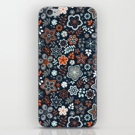 wildflowers tale iPhone Skin