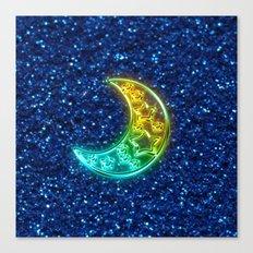 Moon Night Canvas Print
