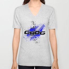 GROM Reapers Owners Group, Blue Unisex V-Neck