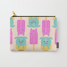 Cat and Dog - simple cute illustration Carry-All Pouch