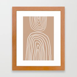 Abstract Rainbow, Framed Art Print