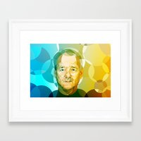 bill Framed Art Prints featuring Bill by Tom Johnson