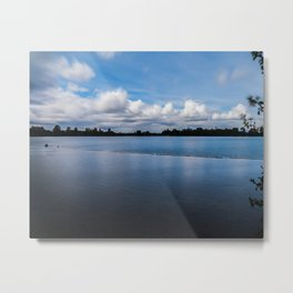 One dredging lake in Germany Metal Print
