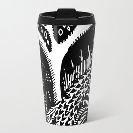 The woods are lovely, dark and deep Travel Mug
