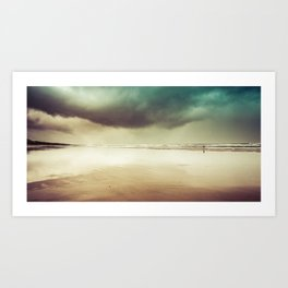 Ocean Solitude Art Print