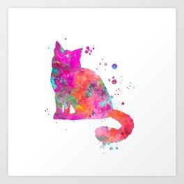 Birman Cat Art Print