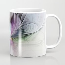 New Life, Abstract Fractals Art Coffee Mug