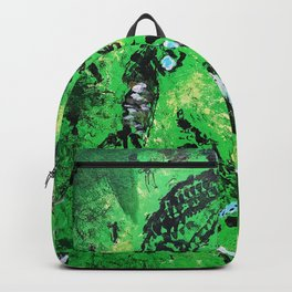 thug,so much fun,album art,cover,green,music,hiphop,rap,decor,wall art,gangsta,cool,dope,poster Backpack