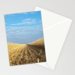 Serene Cornfield Stationery Cards