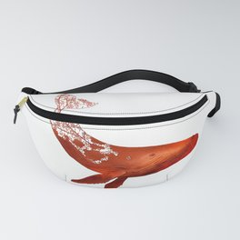 dissolving endangered species humpback whale Fanny Pack