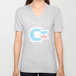 Pastel Pixel C64 Unisex V-Neck