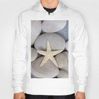 starfish Hoodies featuring Starfish by LebensART Photography