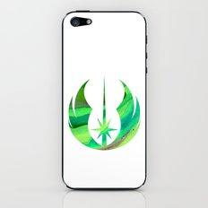 Star Wars Jedi Symbol in Green iPhone & iPod Skin