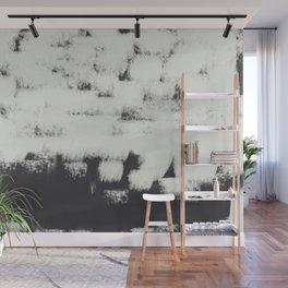 White wall strokes  Wall Mural