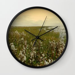 Country by the sea Wall Clock