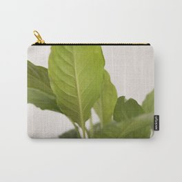 Hojas verdes (2) (green leafs) Carry-All Pouch
