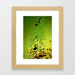 Intercontinental grifter Framed Art Print