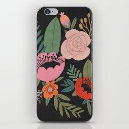 Floral Guache iPhone Skin