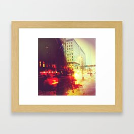 Tuesday Morning (Part 2) Framed Art Print