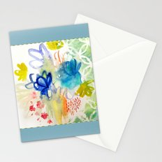 Fleurs Quilt Stationery Cards
