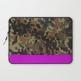 Magenta Fleck Tarn Camo Laptop Sleeve