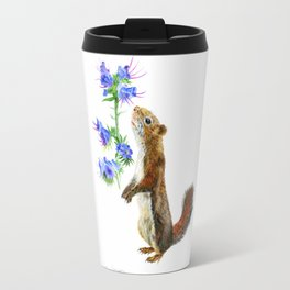 Take Time To Smell The Flowers by Teresa Thompson Travel Mug