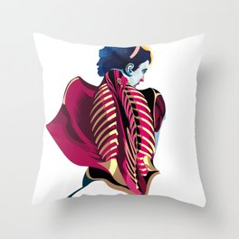 Anatomy 07a Throw Pillow