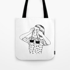 Two Cups Of Tears Tote Bag