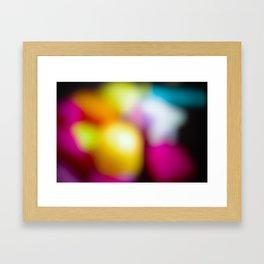 Bunter Traum Framed Art Print