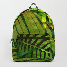 TROPICAL GREENERY LEAVES no1b Backpack