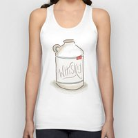 whiskey Tank Tops featuring Whiskey Illustration  by Old South Inkery