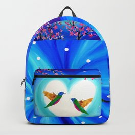 Blue designs Backpack