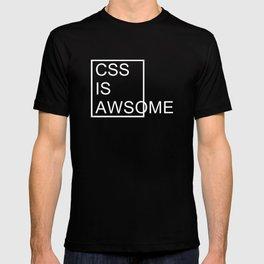 CSS is Awsome - Dark T-shirt