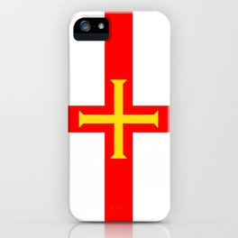 Guernsey country flag iPhone Case