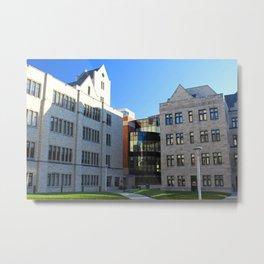 University of Toledo- Stranahan Hall III Metal Print