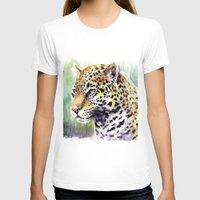 jaguar T-shirts featuring Jaguar by Juan Pablo Cortes